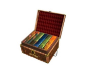 Harry Potter Books Set #2.5cm - 18cm Collectible Trunk-Like Toy Chest Box, Decorative Stickers Included by Harry Potte