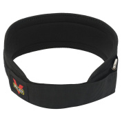 RUNACC Weightlifting Belt Back Support Strap Waist Wrap, Suitable for Weightlifting, Squats and Thruster Training, Black