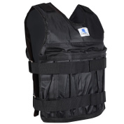RUNACC Zooboo Weighted Vest Training Waistcoat Weighted Clothing Suitable for Running, Boxing and Other Training, Black
