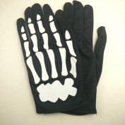 Halloween Gloves,Halloween Horror Skull Claw Racing Full Gloves Bone Gloves by ABCsell