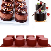 Cake Mould,Hunzed Round Flexible Silicone Cake Mould Decorating Tools DIY Cookie Mould Candy Chocolate Mould