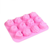 Cake Mould,Hunzed 3D Silicone Chocolate Soap Mould Cake Candy Mould Decorating Tools DIY Baking Pan Tray Mould