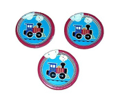 Creative Converting All Aboard Train Birthday Party 18cm Plates