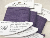 splendour SILK THREAD-colour -881-MIDNIGHT PURPLE-1 CARD IN THIS LISTING-TOTAL OF 3 AVAILABLE