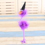 Halloween Decoration Feathers Touches Ducks Witch Style Pen Kids Kindergarten Halloween Gift Ball ,Tuscom
