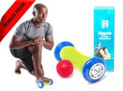Foot Massage Roller By RIMSports - Ideal Foot Pain Relief Massager -Foot Massager For Heel Spurs - Effective Roller For Feet Roller Massager -Recommended Foot Massager For Runners