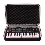 LTGEM EVA Hard Case Travel Carrying Storage Bag for Akai Professional MPK Mini MKII 25-Key USB MIDI Controller