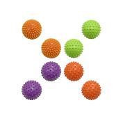 Set of Sensory Knobby Balls! Perfect for Motor Skills and Developement as Well as Massage Stimulation!