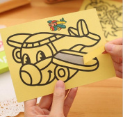 5pcs/lot Children Kids Drawing Toys Sand Painting Pictures Kid DIY Crafts Education Toy