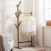 Solid wood coat rack Coat Rack Creative Drops Coat Rack Simple Modern Coat Rack Nanzhu Bamboo Child Coat Rack