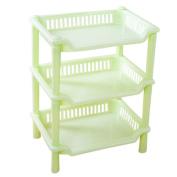 Coerni Premium Strong 3 Tier Corner Storage Organiser for Kitchen Bathroom on SALE - Square / Triangle