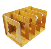 Gorse Decorative Wood Bookends Nonskid Bookend Assembly Bookends Adjustable Books Holder Stand Desk