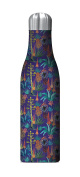 Studio Oh! 500ml Justina Blakeney Insulated Stainless Steel Water Bottle, Agave