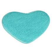 Home Entrance Doormat,Fullfun Love Shape Anti-Skid Fluffy Rug Door Mat
