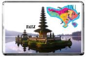 C314 BALI FRIDGE MAGNET INDONESIA TRAVEL PHOTO REFRIGERATOR MAGNET