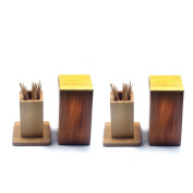 Terya Portable Toothpick Holder Toothpick box Pocket Toothpick Holder