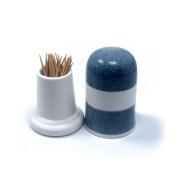 Terya Ceramic Toothpick holder Portable Toothpick Holder Dispenser Pocket Toothpick Holder