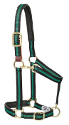 Weaver Leather Padded Breakaway Adjustable Chin & Throat Snap Halter, 2.5cm Average Horse or Yearling Draught