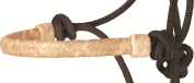 Cashel Rawhide Halter with 2.7m Lead Rope, Colour Accent Choice