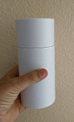 One Child/Pet - Serene Classic WHITE Biodegradable CREMATION SCATTERING TUBE w/Telescopic Lid & Instructions (Style