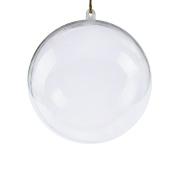 Clear Plastic Acrylic Bath Bomb Mould Shells Moulding Balls Kit