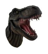 """""""Jurassic King"""" T-Rex Head Wall Mount"""