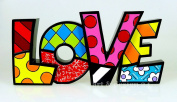 Romero Britto Love Word Decor by Giftcraft