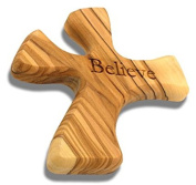 Olive Wood Prayer Cross