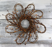 16 Flower Shaped Wreath by Crafts