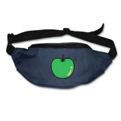 Cartoon Apples Adjustable Belt Waist Pack Waist Bag Running Pack Convenient For Men Women