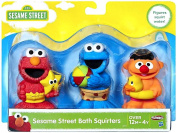 Sesame Street Bath Squirters Set 7.6cm Elmo, Cookie Monster & Ernie