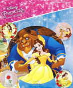 Officially Licenced Disney's Beauty And The Beast Set Of Five Vinyl Stickers
