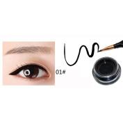 CYCTECH Feather Pen Ink Bottle Cushion Waterproof Glitter Liquid Eyeliner Pen