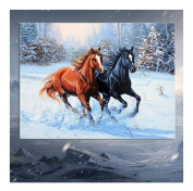 Born Beauty 5D Drilled Diamond Paint Picture DIY Cross Stitch Embroidery By Number Kits Craft Horse