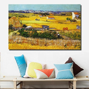 Faraway DIY Oil Painting for Adults Kids Paint By Number Kit The Harvest Diy Diamond Embroidery By Van Gogh
