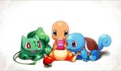 Pokemon Original 3 Starters CUSTOM PLAYMAT ANIME PLAYMAT #129 by MT