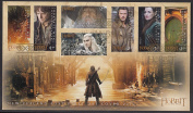 The Hobbit Battle of Five Armies Collectible First Day Cover Postage Stamps New Zealand