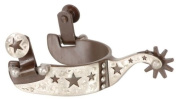 Kelly Silver Star Cutout Stars Show Spurs Childs - Brown