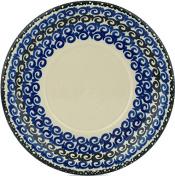 Polish Pottery Saucer 15cm Midnight Glow UNIKAT