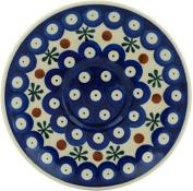 Polish Pottery Saucer 13cm