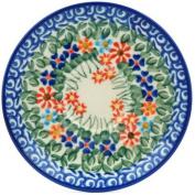 Polish Pottery Saucer 13cm Blissful Daisy