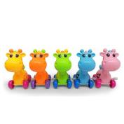 Quietcloud Cute Cartoon Animal Giraffe Clockwork Wind-Up Baby Toys Kid Child Birthday Gift