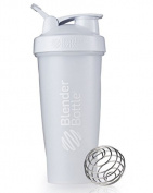 BLENDER BOTTLE CLASSIC 830ml (WITH LOOP) SUNDESA PROTEIN SHAKER - FULL WHITE