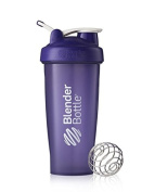 Blender Bottle Classic 830ml Shaker with Loop Top, Full Colour, Purple