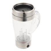 Merssavo Multipurpose Mixer Self-Stirring Coffee Mug Tea Cup