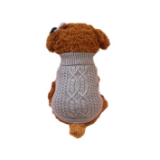 Puppy Clothes,Haoricu Fall Puppy Dog Knitted Sweaters For Small Dogs Cat Shirt