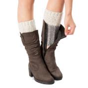 FEITONG Woman Warmers Knitting Sports Yoga Socks Boot Cover