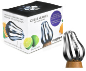 Magisso Stainless Steel Citrus Reamer with Bamboo Stand