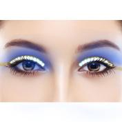 LED Eyelashes Sound Control Waterproof Shining False Lashes Eyeliner for Party, Concert, Raves or Halloween Cosplay