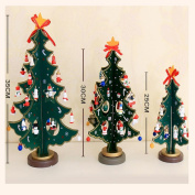 Nesee Christmas Tree Decor,Merry Christmas Decor Toy Doll Gift Home Children Kids Santa Snowman Wood Tree